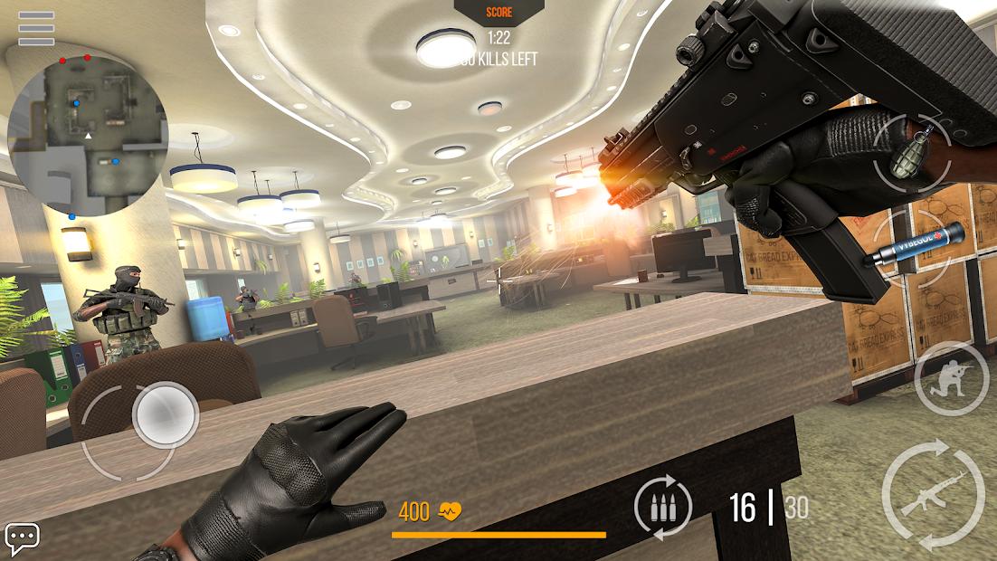 Modern Strike Online: Free PvP FPS shooting game Android App Screenshot