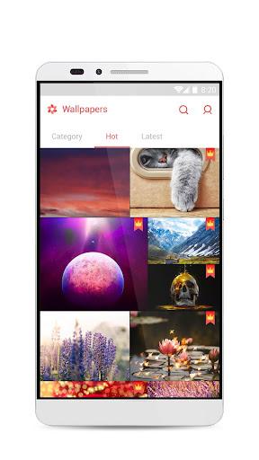GO Launcher S u2013 3D Theme, Wallpaper & Sticker  Screenshots 7