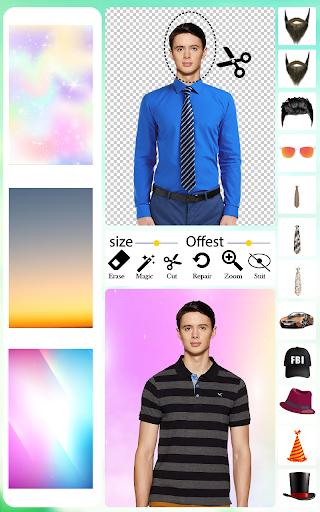 Men T-Shirt Photo Editor and Sweatshirt Dress apktram screenshots 10