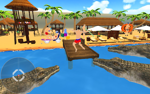 Crocodile Hunter 3d : Hungry Crocodile Attack Game Online Hack Android & iOS 3