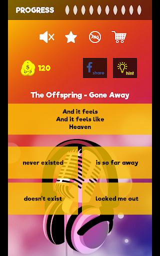 Finish The Lyrics - Free Music Quiz App 3.0.2 Screenshots 13