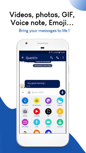 Mood Messenger - SMS & MMS android2mod screenshots 6