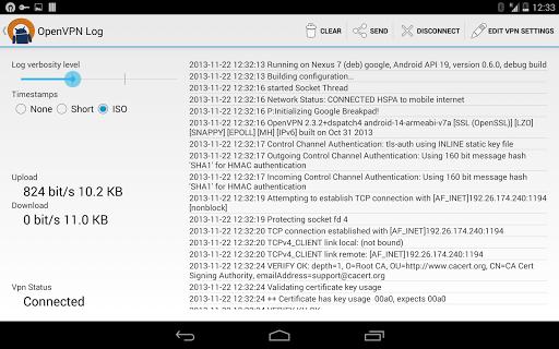 OpenVPN for Android apktram screenshots 8