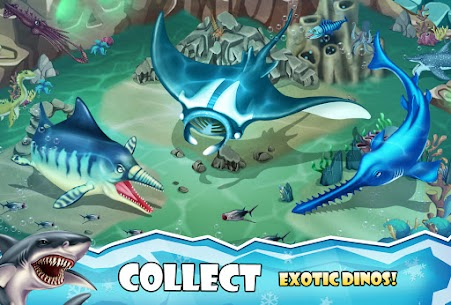 Jurassic Dino Water World Mod Apk 12.66 (Unlimited Currency) 2