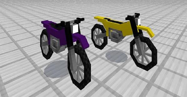 Sport Bikes Mod for MCPE 4.4.1 Screenshots 1