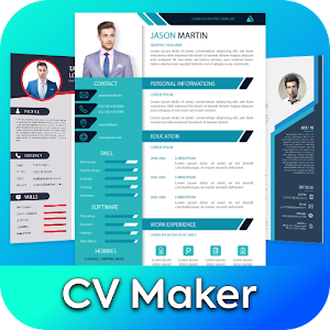 CV Maker by Resume Templates Covers CV Builder 1.2.0 by US Tech Apps logo