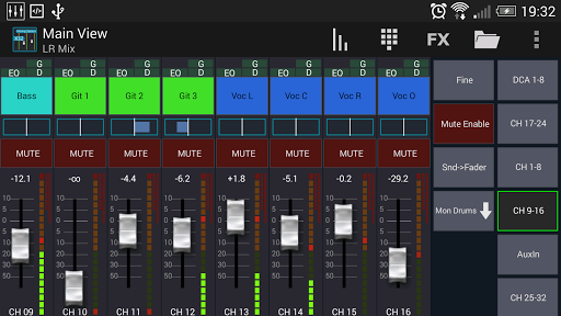 Mixing Station XM32 android2mod screenshots 1