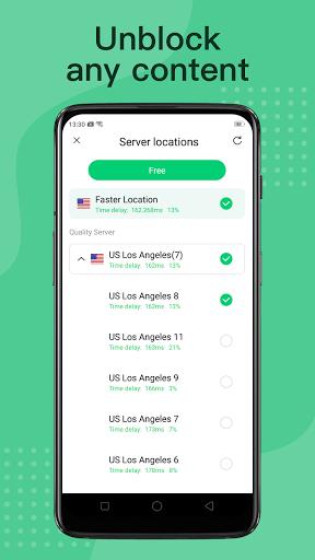 VPN Free-unlimited & Speed VPN proxy master screen 0