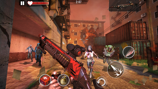 ZOMBIE HUNTER Mod Apk (Free Shopping) 10