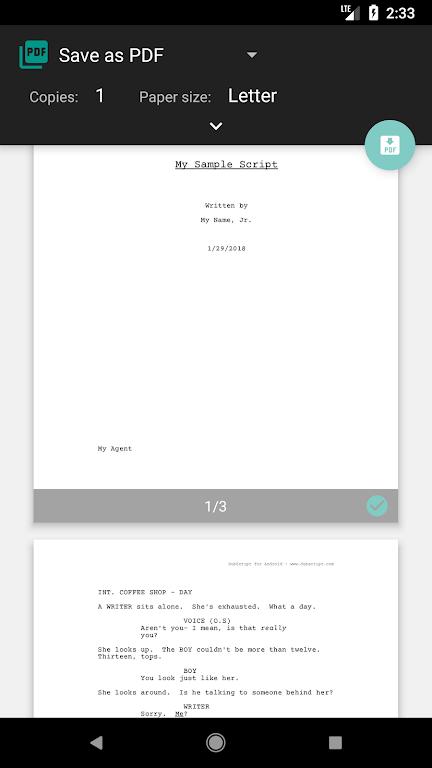 DubScript Screenplay Writer  poster 3