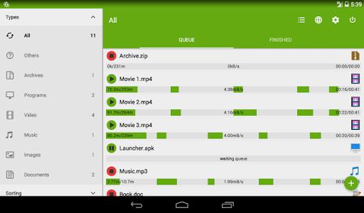 Advanced Download Manager & Torrent downloader screenshots 10