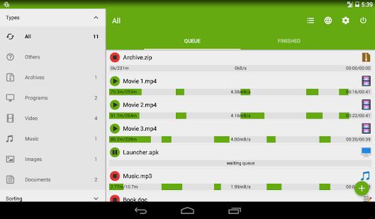 Advanced Download Manager & Torrent downloader