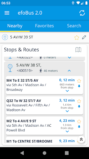 efoBus 2.0 - Transit on time 7.6.03-72 screenshots 1