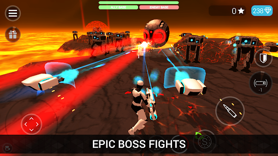 CyberSphere: TPS Online Action-Shooting Game Screenshot