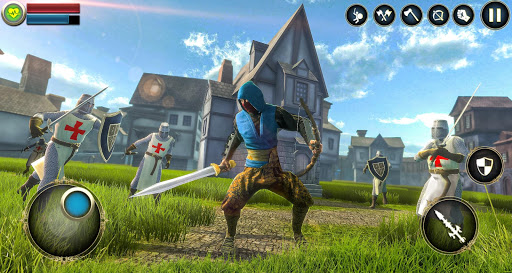 Download Ninja Assassin Samurai 2020: Creed Fighting Games 2.5 screenshots 1