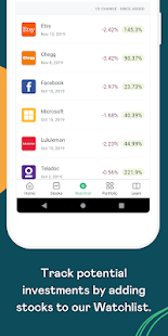 MyWallSt: Buy Stocks, Investment Research and News