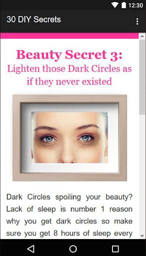 30 Beauty Secrets for Women  Screenshots 3