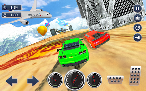 Mega Ramp Car Simulator – Multiplayer Racing Games 7