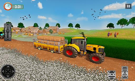 Farming Tractor Driver Simulator : Tractor Games 1.9.5 Screenshots 2
