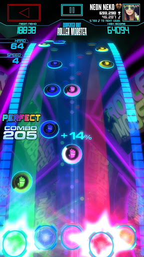 Neon FMu2122 u2014 Arcade Rhythm Game 1.8.0 screenshots 2
