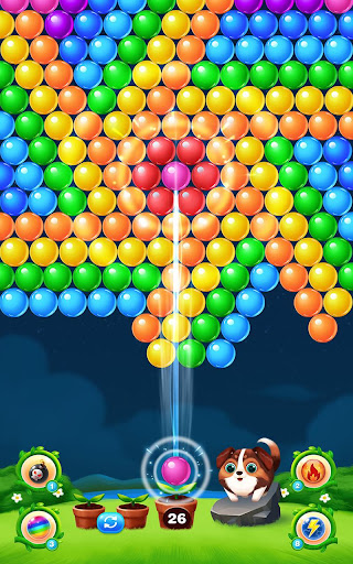 Bubble Shooter Balls modiapk screenshots 1