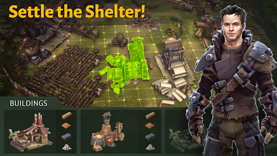 Outlander: Fantasy Survival Mod Android 1