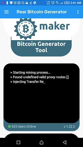 bitcoin generator pentru android