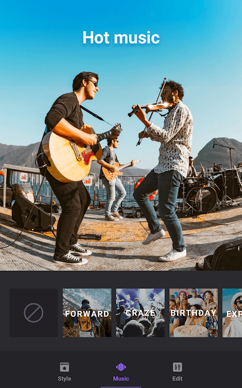 Video Maker of Photos with Music & Video Editor  poster 4