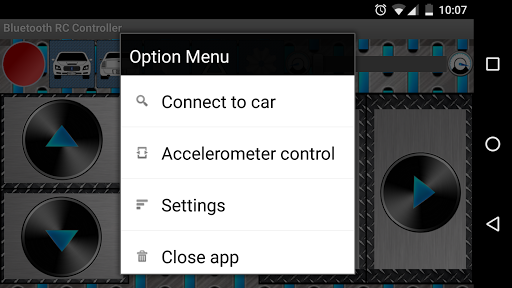 Arduino Bluetooth RC Car  screenshots 2