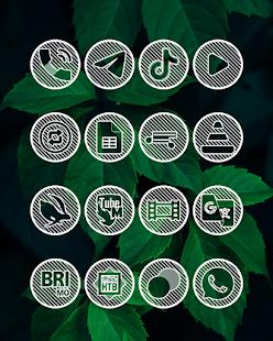 Lines Circle - White Icon Pack - Screenshot 15