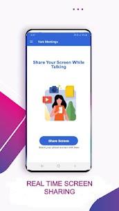 Vani Meetings – Share Screen While Talking 1