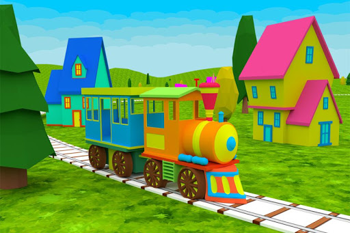 Learn ABC Alphabet - Train Game For Preschool Kids 2.1 screenshots 1