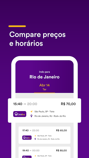 ClickBus - Bus Tickets 3.16.5 Screenshots 17