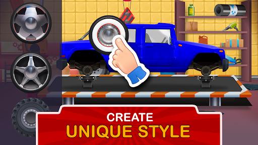 Kids Garage: Car & Truck Repair Games for Kids Fun  screenshots 5