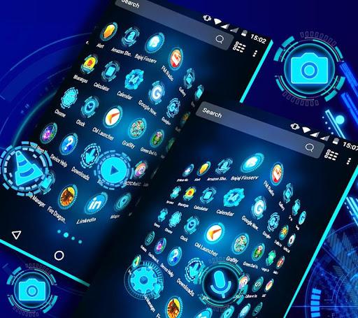 Technology Launcher Theme 4.0 Screenshots 4
