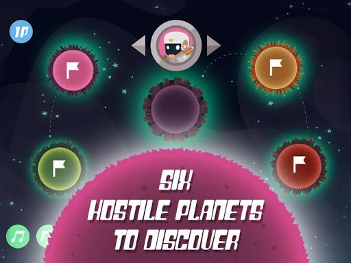 planet rider - 2 player runner screenshot 2