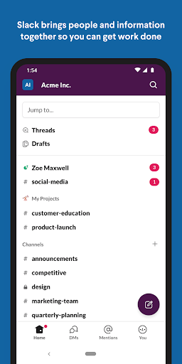 Slack 21.04.10.0 Screenshots 1