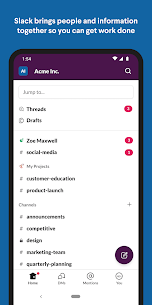 Slack  Apps on For Pc (Free Download – Windows 10/8/7 And Mac) 1