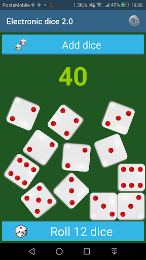 Electronic Dice 2.0 apkmartins screenshots 1