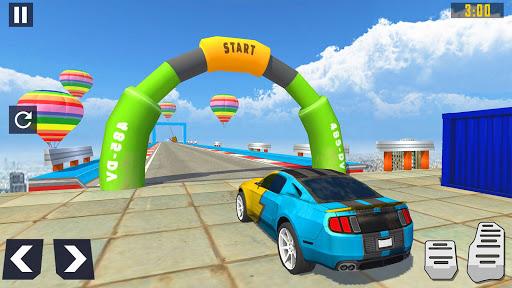 Code Triche Mega Ramp Car Race : Fearless Car Stunts 2020 mod apk screenshots 1