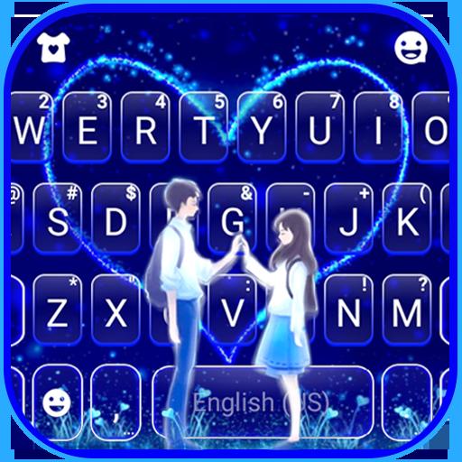 Romantic Love Keyboard Theme APK
