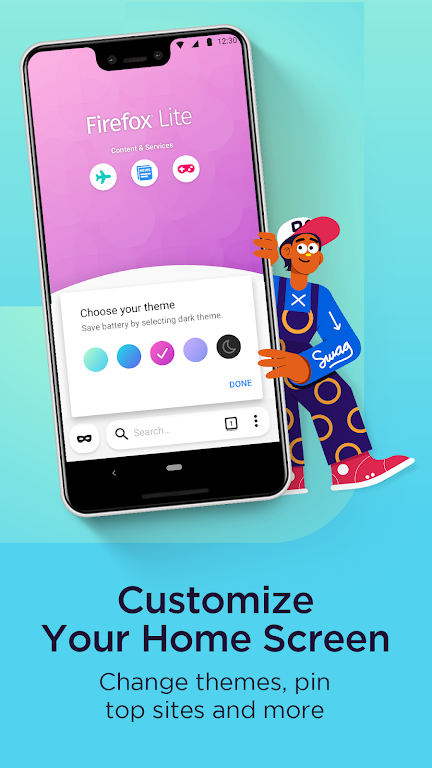 Firefox Lite — Fast and Lightweight Web Browser  poster 3