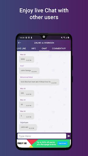 Cricket Line Guru : Cricket Live Line android2mod screenshots 8