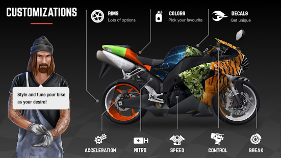 Racing Fever: Moto v1.81.0 Screenshots 3