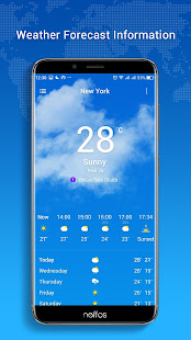 Neffos Weather 9.0-20181217.10025-rel Screenshots 1