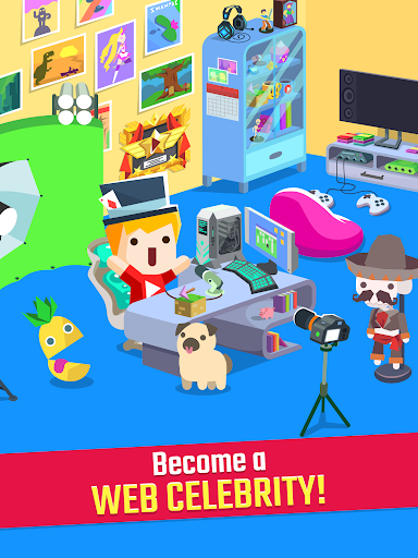Vlogger Go Viral: Streamer Tuber Idle Life Games  screenshots 8