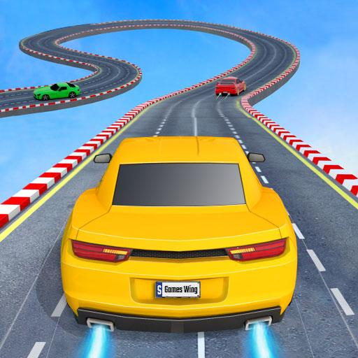 Mega Ramp Car Stunts Offline Games 2020: Car Games