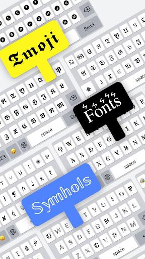 Fonts | emoji keyboard fonts  Screenshots 2