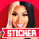 Nicki Minaj Stickers for Whatsapp & Signal para PC Windows
