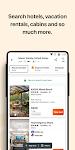 screenshot of KAYAK - Flights, Hotels & Car Rental